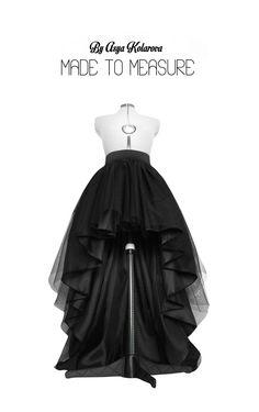 High low tulle skirt Asymmetrical taffeta skirt Dip hem tutu Layered wedding gown High waisted bridal gown Long tulle Full prom skirt by MadeToMeasureClothes on Etsy https://www.etsy.com/listing/399134145/high-low-tulle-skirt-asymmetrical #highlowtulleskirtsdiy