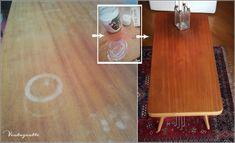 Vintagentti: Tiikkipöydän rinkulat saivat kyytiä.. Butcher Block Cutting Board, Bamboo Cutting Board, Home, Ad Home, Homes, Haus, Houses