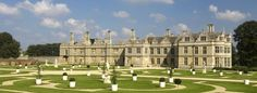 Kirby Hall is one of England's greatest Elizabethan and 17th century houses earlier owned by Sir Christopher Hatton, Lord Chancellor to Queen Elizabeth I.