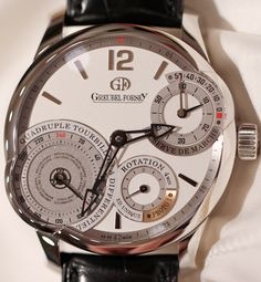 Greubel Forsey Quadruple Tourbillon Secret Watch Hands-On