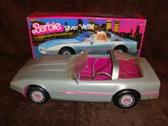 My Barbies rode in style...even in the 80s!