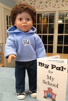 boy doll - My Pal for My School