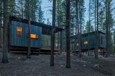 Cabañas diminutas en las montañas de Colorado - despiertaYmira