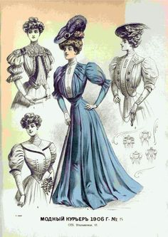 Edwardian Era Fashion, 1900s Fashion, 19th Century Fashion, Vintage Fashion, Victorian Illustration, Victorian Gown, Steampunk Costume, Female Images, Historical Clothing