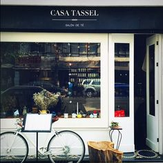 The Casa Tassel tea shop in Mexico City's Colonia Roma neighborhood. #dispatchfrom @beccabeq #mexicocity