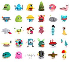 Artist Cesc Grané's work has evolved from two dimensional scenes, produced on vinyl stickers to more three dimensional digital prints and animations. He is also currently working to release some of his characters as art toys.