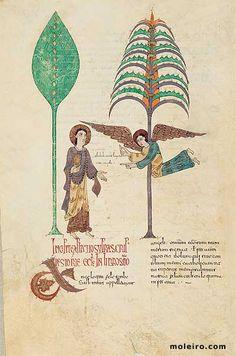 Pre-Romanesque - Message to the Church of Ephesus - Ende Pre Romanesque, Ephesus, Art Database, School Notes, More Words, Medieval, Artist, Artwork, Painting