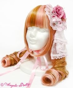 Lolibrary | Angelic Pretty - Hair accessories - Dramatic Rose Canotier