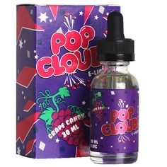Pop Clouds E-Liquids - Grape Candy Vape Juice - Vapor Widgets Pop Clouds, Liquid Vapor, Vape Facts, Juice Company, I Quit Smoking, Vape Smoke, E Liquid Flavors, Vape Juice, Electronic Cigarette