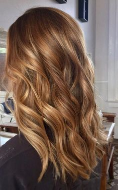 70 stunning long blonde hair color ideas for spring and summer page 4 . - 70 stunning long blonde hair color ideas for spring and summer page 4 …, # stunning - Brown Hair With Caramel Highlights, Brown Hair Balayage, Hair Color Balayage, Color Highlights, Light Caramel Hair, Honey Balayage, Caramel Balayage, Honey Blonde Highlights, Auburn Balayage