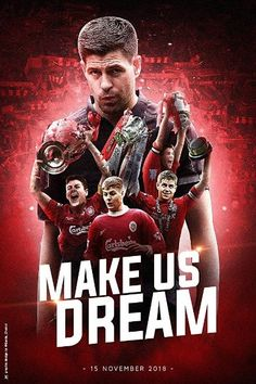 With Steven Gerrard, Michael Owen, Steve Bruce, Jamie Carragher. Documentary about the mercurial football career of Steven Gerrard, one of Liverpool FCs finest ever players. Liverpool Legends, Liverpool Fans, Liverpool Football Club, Steven Gerrard Liverpool, Steve Bruce, Liverpool Wallpapers, Michael Owen, This Is Anfield, Arsenal Fc