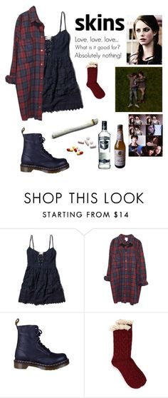 """Effy Stonem"" by fran-peeters on Polyvore featuring mode, Abercrombie & Fitch, Monki, Dr. Martens, Effy Jewelry en Free People"