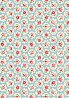 Provence Rose | A contemporary take on traditional printed textiles from the South of France in fresh pastel shades | Cath Kidston Classic AW09 |
