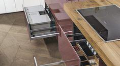 36E8 WILDWOOD Кухонный гарнитур by Lago дизайн Daniele Lago