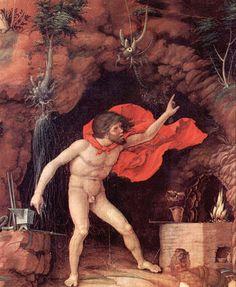 Héphaïstos, par Andrea Mantegna