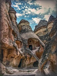 A Piece Of History - photograph by Hanny Heim #hannyheim #cappadocia #unescoworldheritagesite