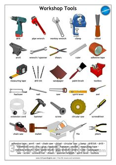 Hand Tools Name List Magiel Info Dementia Keep Busy Pinterest