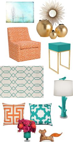 Crazy Tips and Tricks: Livingroom Remodel Mobile Homes small living room remodel on a budget.Living Room Remodel Ideas Tips livingroom remodel open concept.Living Room Remodel On A Budget How To Make. Teal Living Rooms, Living Room Orange, New Living Room, My New Room, Living Room Decor, Bedroom Decor, Small Living, Teal Colors, Room Colors