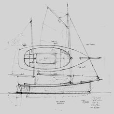Pender Harbour 17 Daysailer ~ Sail Boats Under 29'~ Small Boat Designs by Tad Roberts PLUS