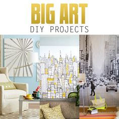 tips for painting your own large sized artwork big art in modern
