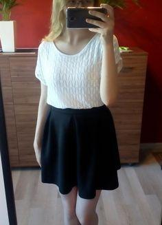 Kup mój przedmiot na #vintedpl http://www.vinted.pl/damska-odziez/koszulki-z-krotkim-rekawem-t-shirty/14865401-biala-azurowa-koszulka-z-krotkim-rekawem