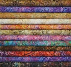Amazon.com: R Kauf Artisan Batiks Grove Fat Quarters 12 Pieces: Arts, Crafts & Sewing