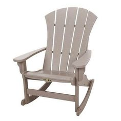 Pawley's Island Sunrise Dew Weatherwood Adirondack Rocker - SRAR1WW