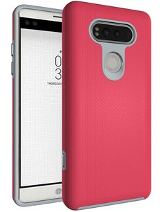 LG V20 Case, OUBA [Dual Layer] Shock Absorption Impact Resistant Armor Rugged Defender Protective Case for LG V20 - HotPink -- Awesome products selected by Anna Churchill