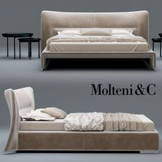 3d glove bed molteni model