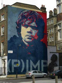 Tyrion Lannister mural