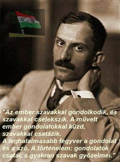 Writers And Poets, Timeline Photos, Powerful Words, Hungary, Literature, Wisdom, Thoughts, Retro, Books