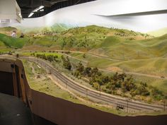 Biggest model train museum in North America! Ho Trains, Model Trains, Train Museum, Train Pictures, Model Train Layouts, N Scale, San Diego, North America, Scenery