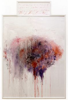 Cy Twombly (American, 1928-2011), Analysis of the Rose as Sentimental Despair, Part V, 1985.