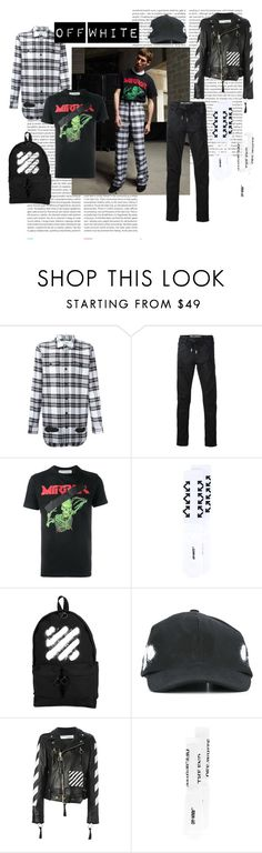 """Off White"" by tessabit ❤ liked on Polyvore featuring Oris and Off-White"
