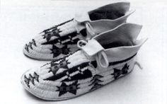 Lakota Music and Dance...Plains Hard-Sole Moccasin Construction