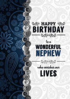 Birthday Greetings For Nephew, Happy Birthday Nephew Quotes, Birthday Wishes For Nephew, Happy Birthday My Brother, Happy Birthday Greetings Friends, Birthday Verses, Birthday Cards For Son, Grandpa Birthday, Happy Birthday Pictures