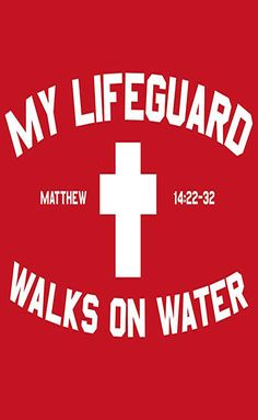 21 Best Jesus Shirts Right Now [Definitive List For - Jesus Quote - Christian Quote - My lifeguard walks on water and yours? sunday The post 21 Best Jesus Shirts Right Now [Definitive List For appeared first on Gag Dad.