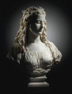 Bust La Candeur (Candor) Sculpture by Jean-Baptiste Carpeaux marble Art Sculpture, Stone Sculpture, Clay Sculptures, Carpeaux, Marble Bust, Jean Baptiste, Wassily Kandinsky, Pablo Picasso, Oeuvre D'art