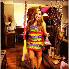 Piñata costume! #pinata #halloweencostumes #halloween #costumeideas #DIYcostume