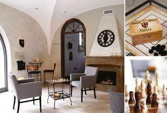 Themenhotel, Atmosphäre, Interior Design, Konzept, Entwurf, Planung, Innenausbau, Lounge, Kamin