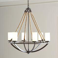 Luminaire suspendu en bois couleur naturel avec métal bronze