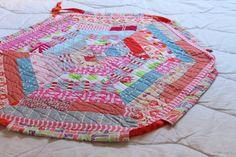 Drawstring Quilt bag/blanket for baby