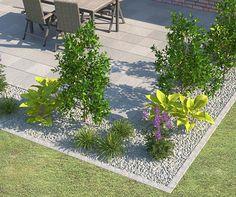 rasenkantensteine leicht und einfach verlegen pflanzbeete anlegen mit rasenkentensteinen. Black Bedroom Furniture Sets. Home Design Ideas