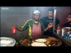 ♥ Best OMELETTE Roll Ever ♥ with Butter Masala - Indian Style | Street Food Planet ✔ - YouTube