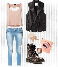 Tough and girly all in one. Love.