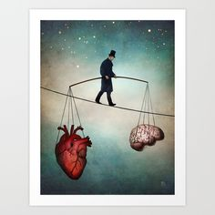 Buy The Balance by Christian Schloe as a high quality Art Print. Worldwide shipping available at Society6.com. Just one of millions of products available.