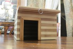 Large Guinea Pig Authentic Bamboo Hide- A-Way House Hut Cage Hamster Rat Ferret