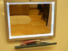 Miss Jackie's Views: ToileTree Deluxe LED Fogless Mirror Review & Giveaway