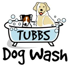 Tubbs dog wash. New logo design for a brand new dog washing company.