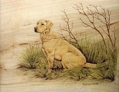 Pyrography by Kathleen Marie Wilson